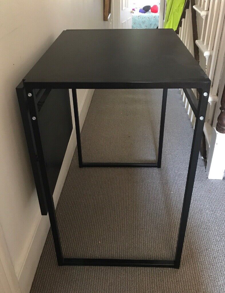 Ikea Muddus Drop Leaf Table Black 48 92x60cm In Islington London Gumtree