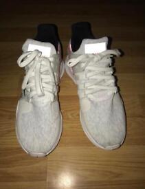 Adidas white EQT size 8.5 men