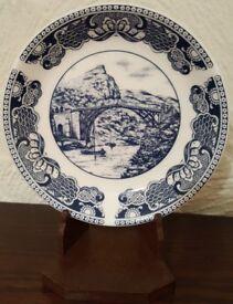 Coalport Ironbridge Gorge Museum Trust Commemorative Plate - Immaculate