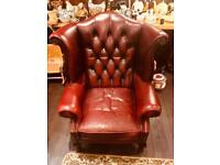 Chesterfield Tub Wingback Queen Anne Chairs Sofas & Suites Button Back