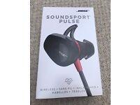 Bose SoundSport Pulse wireless headphones. Used, amazing condition.