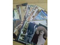 57 old postcards - reproductions