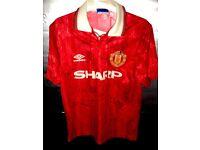 Signed Manchester United shirt