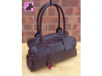 RADLEY - Large Dark Brown Leather 'Porchester' Shoulder Tote *Immaculate