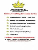 COURT DOCUMENT DELIVERY SERVICE
