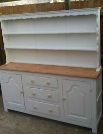 large solid welsh dresser shabby chic