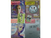 Collection of Tomorrows World magazine's from 1988