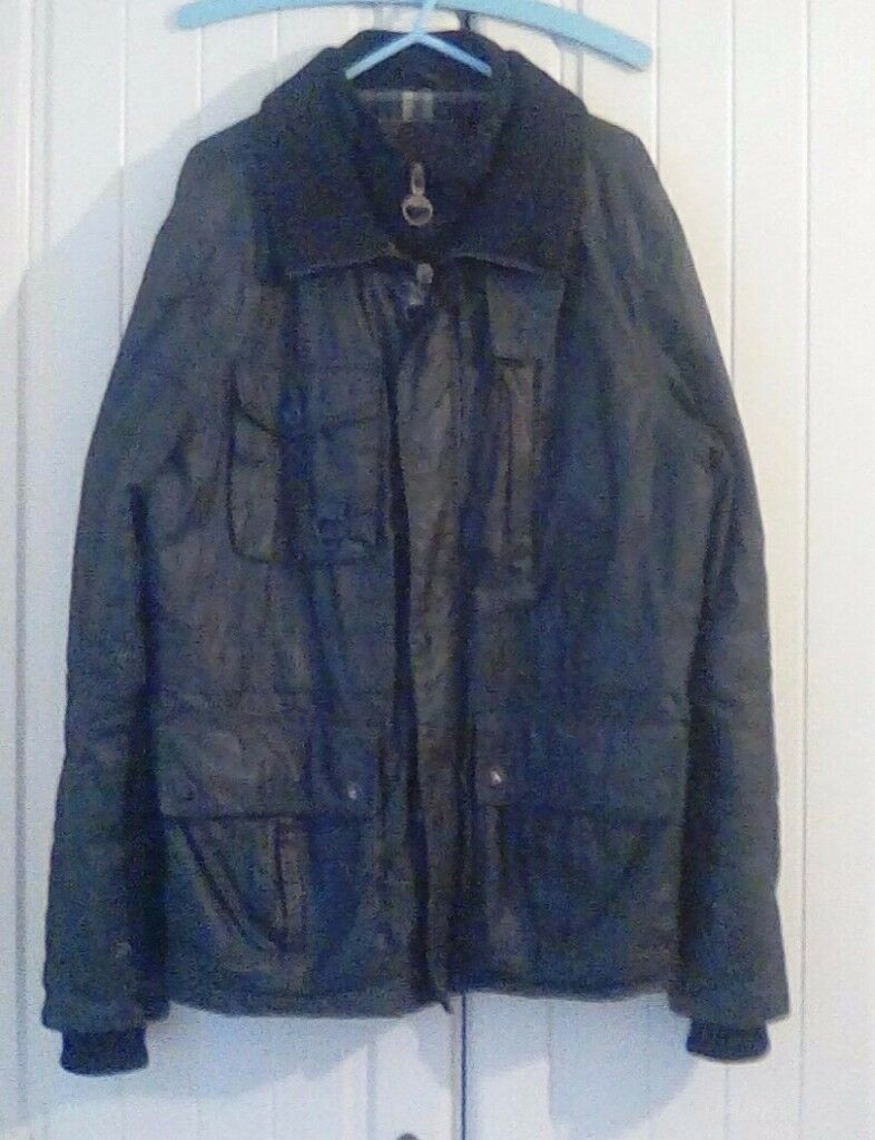Next Black Mens Jacket / Coat - Size Medium