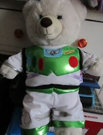Build A Bear - With Buzz Lightyear Outfit