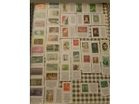 usa unused commemorative stamps collection