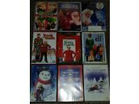 Christmas collection of dvds
