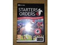 Starters Orders 4 Budget PC Game BNIB