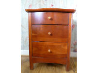Small 3 Drawer Chest/Beside Locker: Willis and Gambier