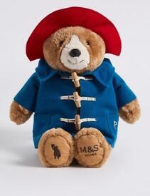 Paddington Bear M&S