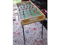 Vintage Table Top Football Game