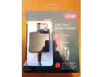 Logik USB Type C power adaptor
