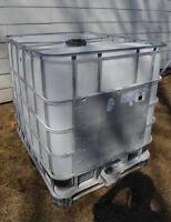 1250 litre tote-tank used once