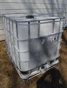 1250 litre totes/tanks used once