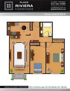 *PROMOTION* Superbe 4½ DDO Pierrefonds / Superb 2 bedroom unit West Island Greater Montréal image 12