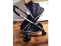 Icandy Strawberry Pushchair and carrycot