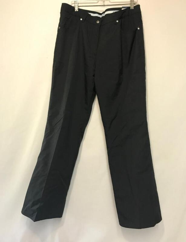 Fera Britney Women's Snow Ski Insulated Pants Black 14L NEW