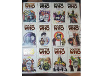 Classic Doctor Who books, 50p-£1 individually, will offer better price for multiple.
