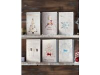 Pack Of 12 Luxury Christmas Cards