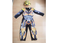 Bumblebee Transformers Childrens Fancy Dress Outfit - Age 5-6 years - Fab!!