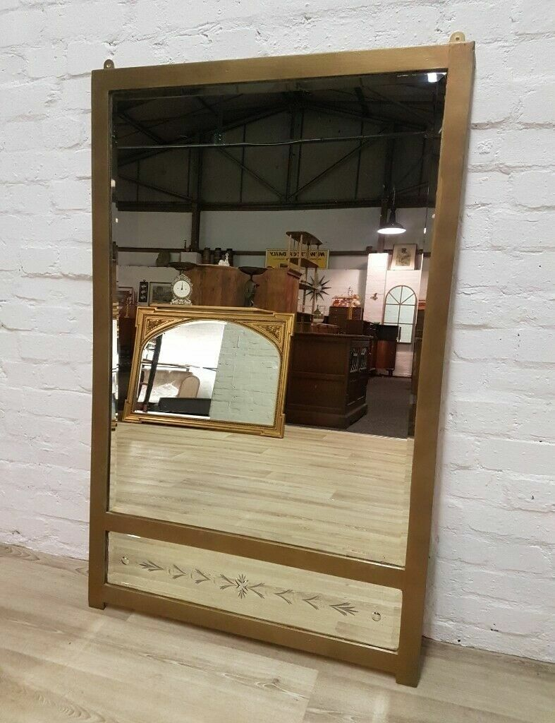Large Art Deco Wall Mirror Delivery Available In Edinburgh City Centre Gumtree