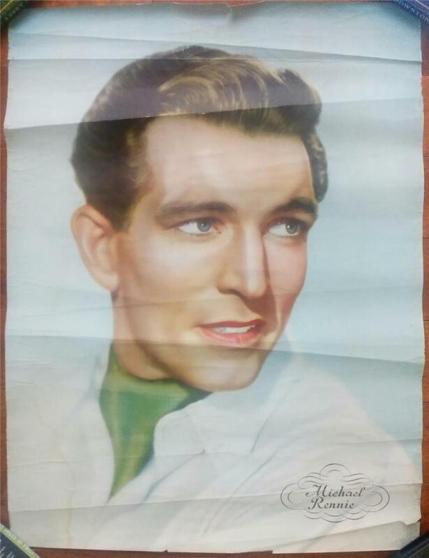HANDSOME DAY THE EARTH STOOD STILL MICHAEL RENNIE ORIG FRENCH PERSONALITY POSTER