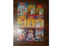 9 TOM AND JERRY KID'S DVD'S JOB LOT COLLECTION