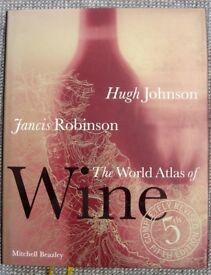 The World Atlas of Wine, Hugh Johnson, Mitchell Beazley