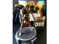 "Doom (Playstation 4, 2016) PS4 - Collectors Edition - 12"" figure"
