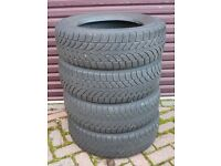 4 x Snow / Winter Tyres - Bridgestone Blizzak LM-32 195/65 R15 91H