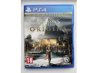 Assassin's Creed Origins Gold Edition + Season Pass - Sony Playstation 4 Video Game PS4 PS5 5 - NEW