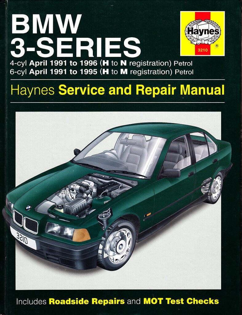 HAYNES BMW 3 SERIES PETROL 1991-1996 SERVICE & REPAIR MANUAL