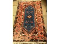 Turkish Rug - vibrant colours and geometric patterns, hand-knotted from John Lewis (reduced price)