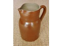 Gres du Berry Pottery Jug / Pitcher Rustic French Farmhouse Country Kitchen Stoneware / Ornament