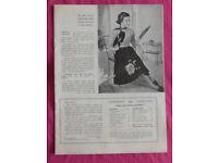 Stitchcraft Magazine (Vintage/Retro/Memorabilia), Issue April 1954