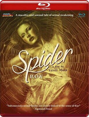 SPIDER Mondo Macabro RED CASE BluRay LIMITED Luis Bunuel EROTICA David Lynch OOP