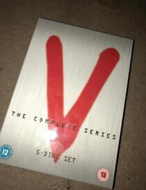 V Complete 5 disc set series 1980's