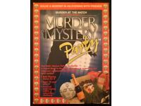 Murder Mystery Party 'Murder At The Match' 2002 Audio Cassette Game