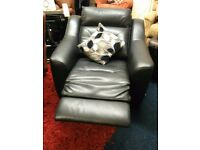 New!!!Top quality leather*laz -boy electric recliner chair*BLACK*