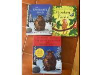 The gruffalo hard back books