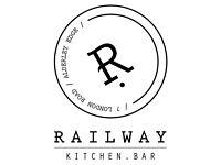 Waiter or Waitress required for Railway Kitchen, Alderley Edge