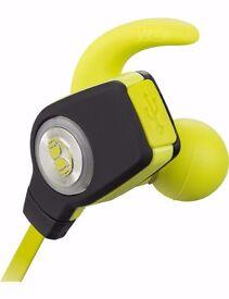 MONSTER iSport Superslim Bluetooth in-ear headphones earphones green