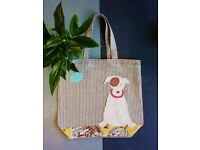 Learn to Sew. Refashion Curtains into a Tote Bag. Monthly Classes