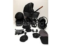 Venicci Black/Grey Travel System