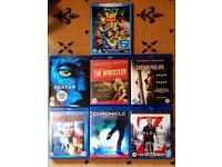 Blu-Ray collection ~ 7 films, good clean condition ~ Bargain!