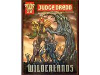Judge Dredd 'Wilderlands' Softback Graphic Novel (2001)